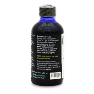 Colloidal Silver Super Concentrate (4oz)
