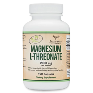 Magnesium Threonate  (100 x 500 mg Capsules)