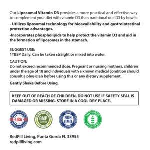 RedPill Living - Liposomal Vitamin D3 with Mk7